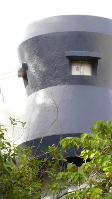 Image of a concrete turret in Hong Kong.
