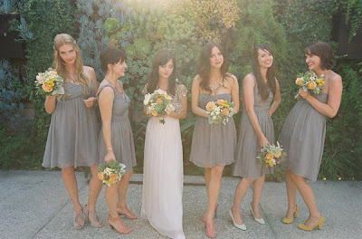 Cool Bridesmaid Dresses on Very Cool Wedding