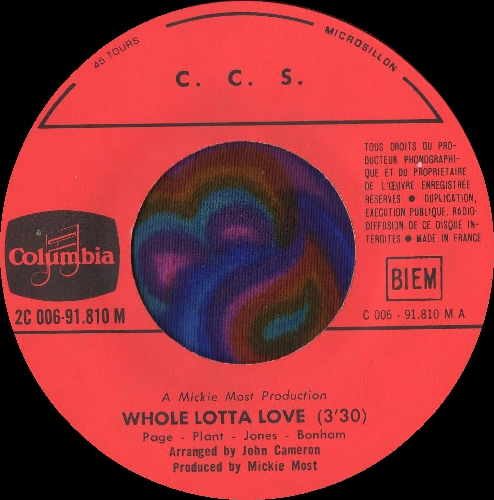 CCS Whole Lotta Love Boom Boom