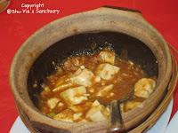 Claypot Mapo Tofu