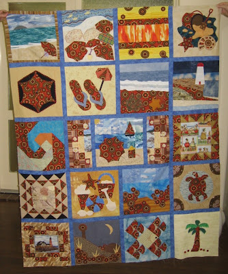 Quilting Patterns Beach Theme : BEACH THEME QUILT PATTERN Quilts & Patterns