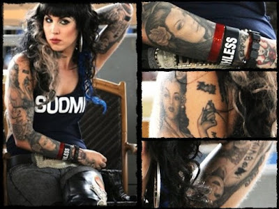 We've all but lost track of how many tats Kat Von D has
