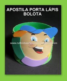APOSTILA PORTA LÁPIS BOLOTA
