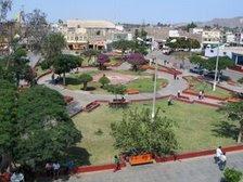 Plaza de armas de Nasca