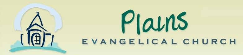Plains Evangelical Church Blog