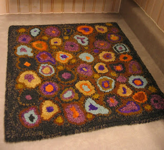 Catu0027s Paw Design Hand Hooked Wool Rug