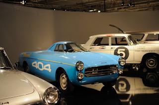 Peugeot 404 diesel des records 1965