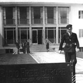Fostul sediu al Europei Libere din München