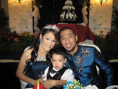 Gambar Rima Melati dan Marcell Kahwin Di Singapura Walau Beza Agama