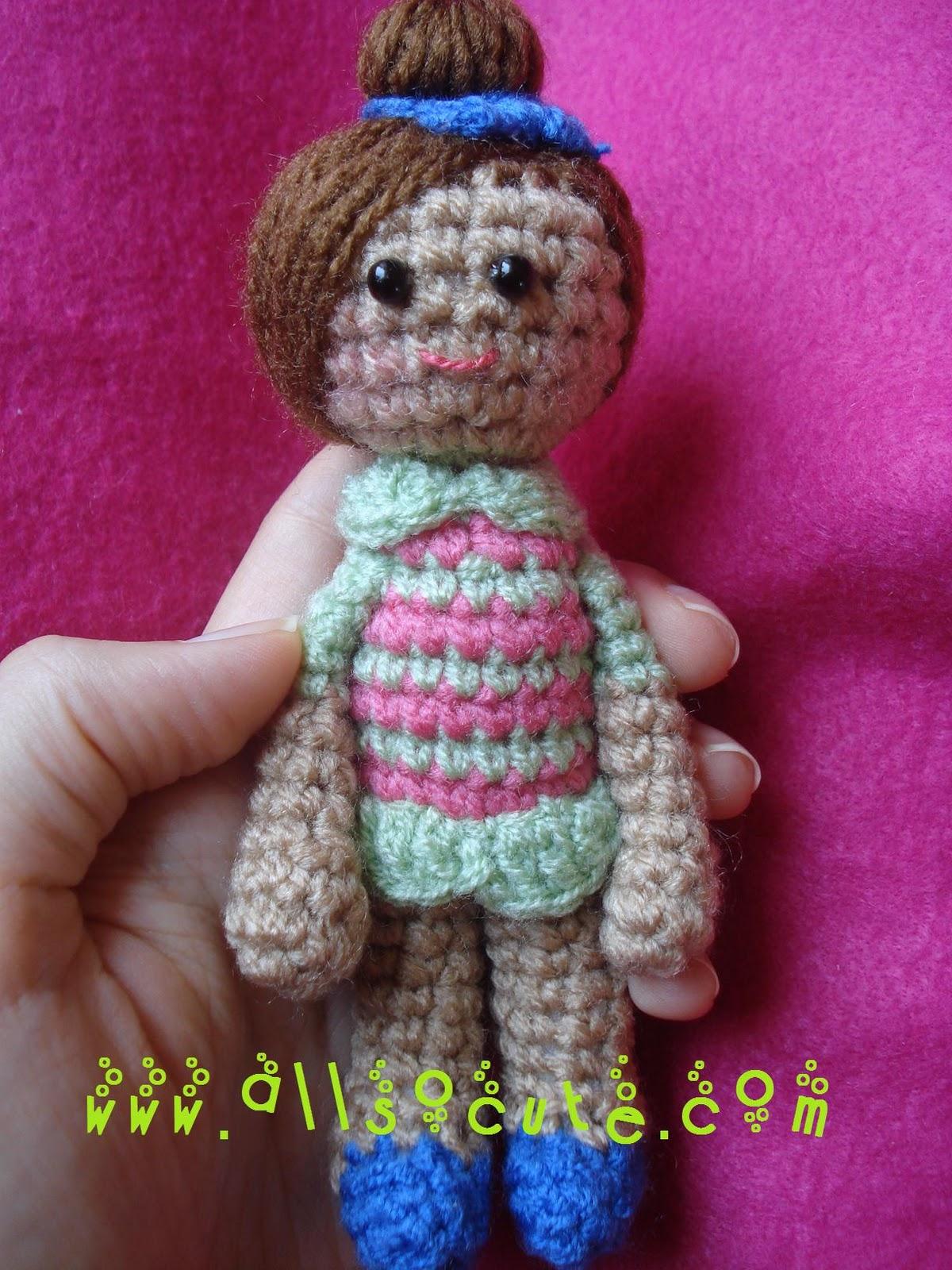 AllSoCute Amigurumis: Lily a Gorgeous Amigurumi Doll ...