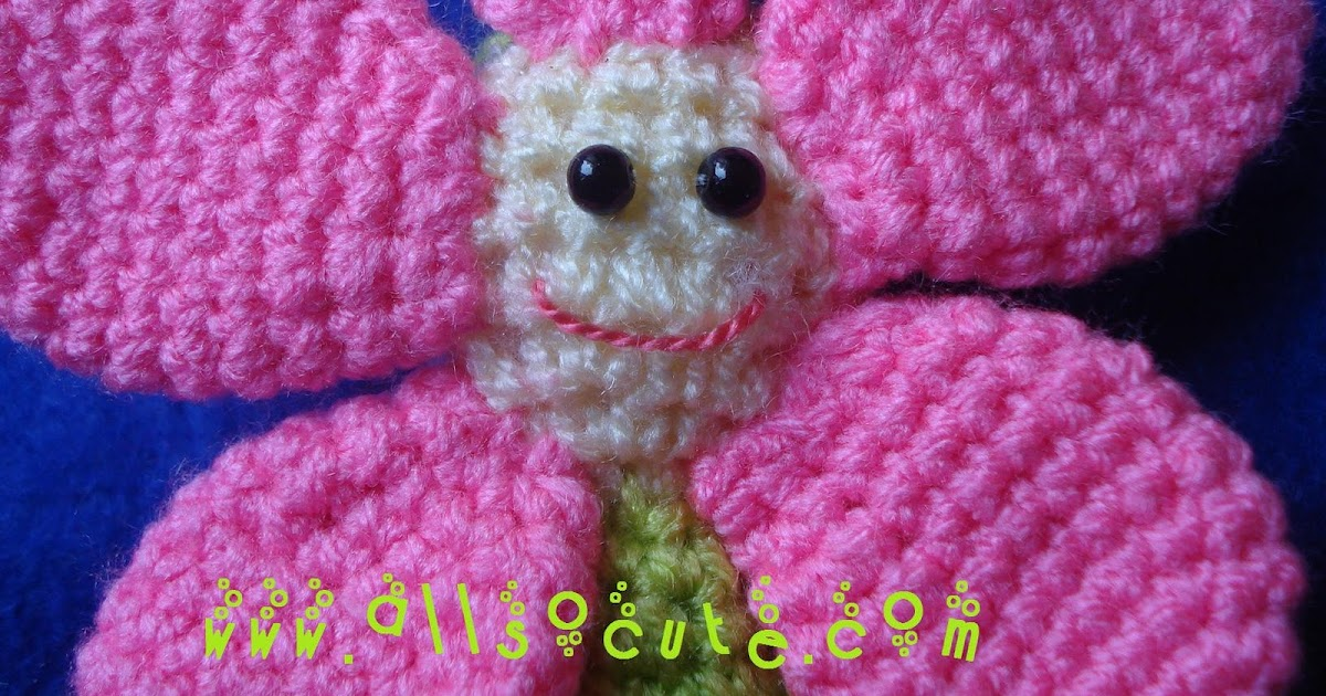 AllSoCute Amigurumis: Flower Fairy Amigurumi / cicek Perisi