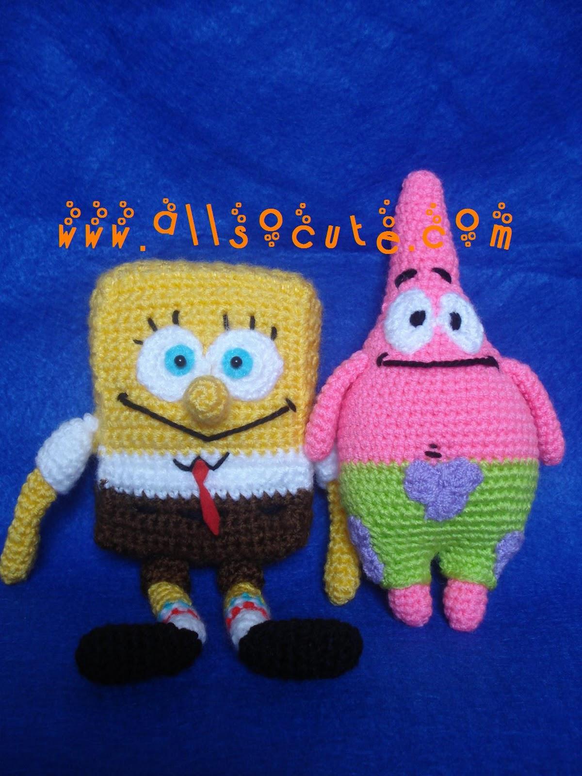 Patrick Star Amigurumi Pattern : AllSoCute Amigurumis: Amigurumi Patrick Star