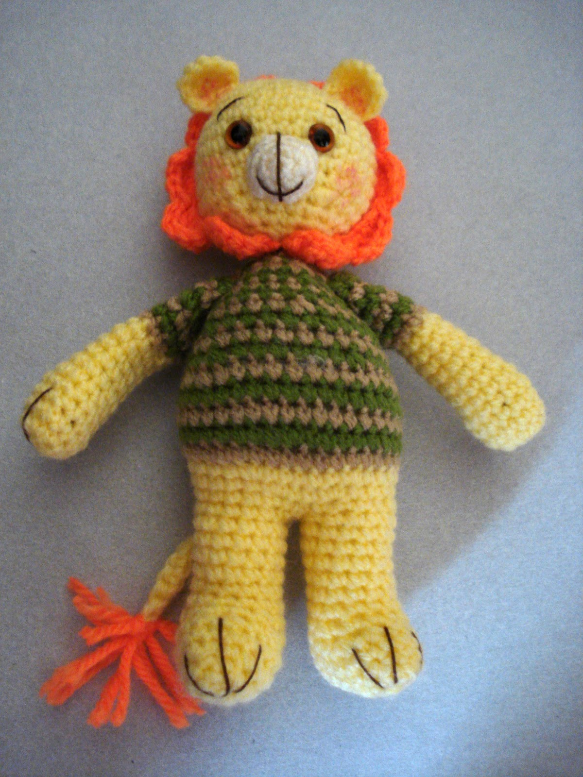 Amigurumilacion : Allsocute amigurumis the amigurumi lion who couldn`t roar