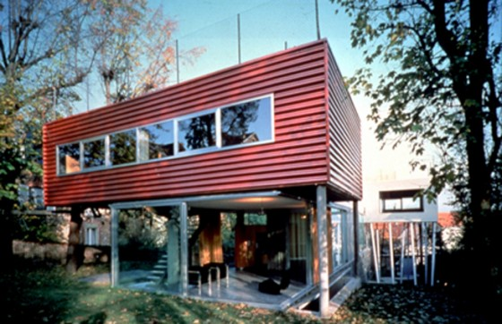 Renovating the gutnayer house more rocket houses on stilts for Modern house john welsh