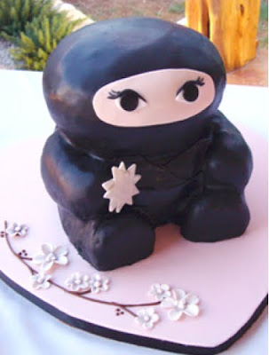 ninja clip art. Ninja Birthday Cake Clip Art
