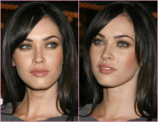 look with our Megan fox make up