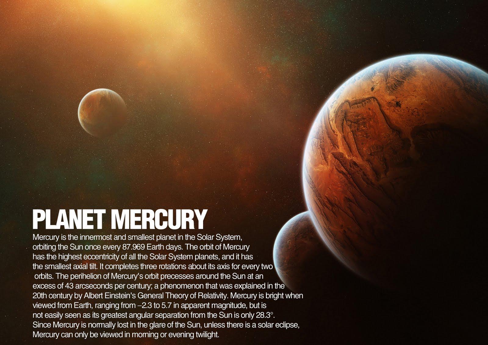 mercury planet essay The planet mercury raderek t halliburton baker college sci 321 principles of astronomy mark scheuern october 30, 2012 mercury - not the element on our.