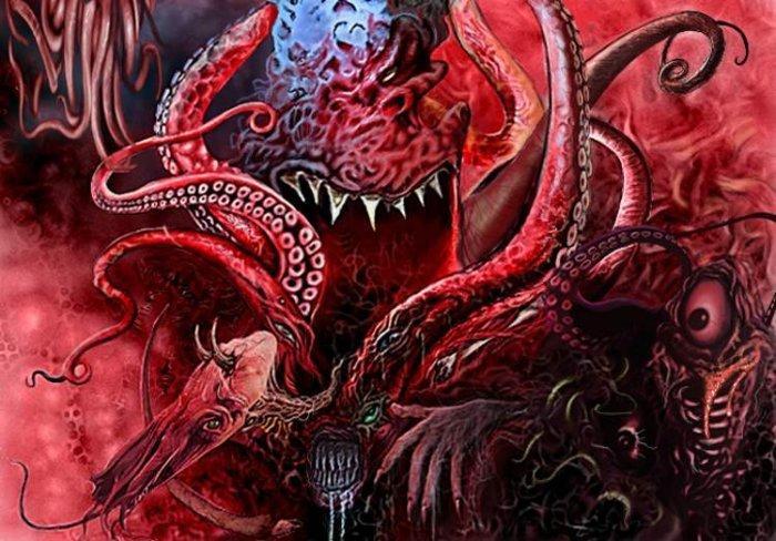 herois vilões e lendas Azathoth