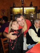 io e Mino, alla Fadoblog cena prima del concerto di Ana Moura