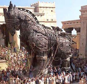 BAG THE TROJAN HORSE