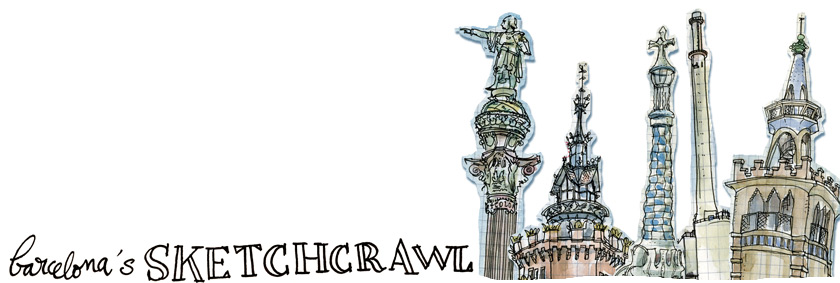 barcelona&#39;s sketchcrawl