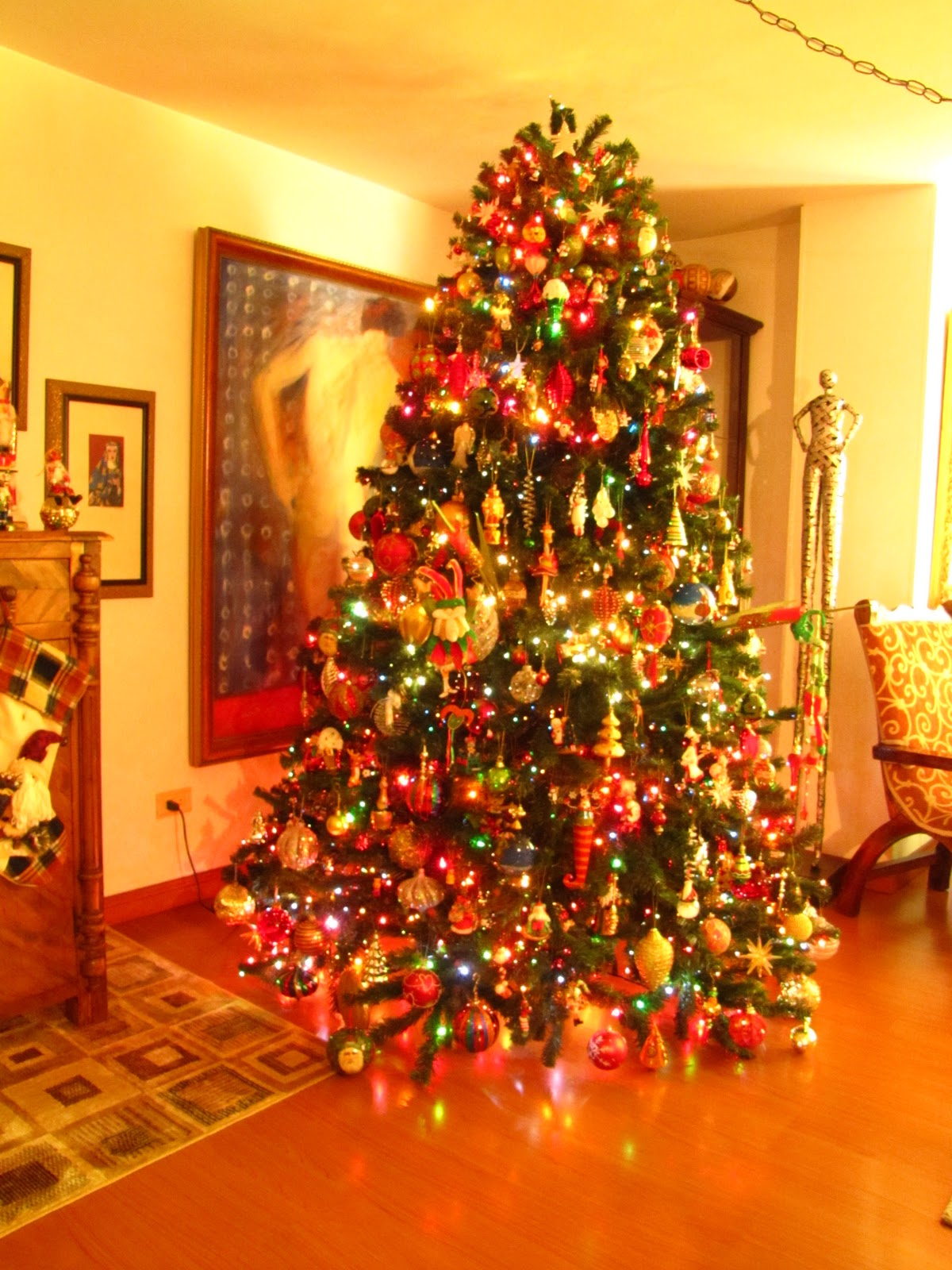mi casa en navidad arbol de navidad