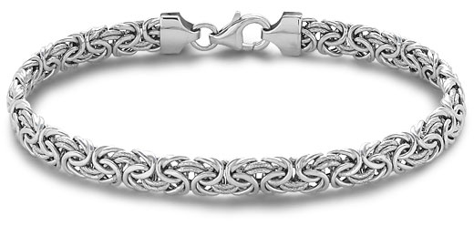 Latest Fashions White Gold Bracelets For College Boys