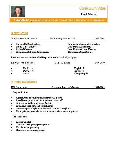 Personal statement marketing example picture 4