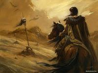 рыцарь варвар на поле смерти
