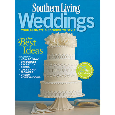 summer wedding recently featured in southern living weddings magazine