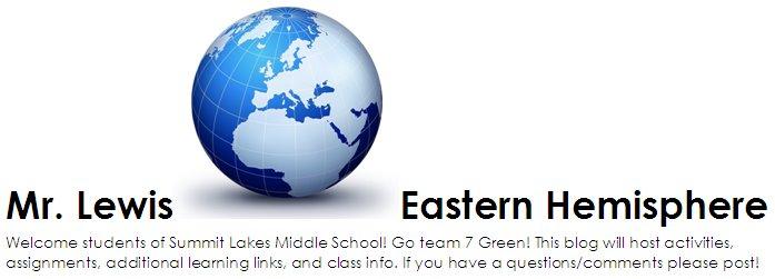 Mr. Lewis - Eastern Hemisphere