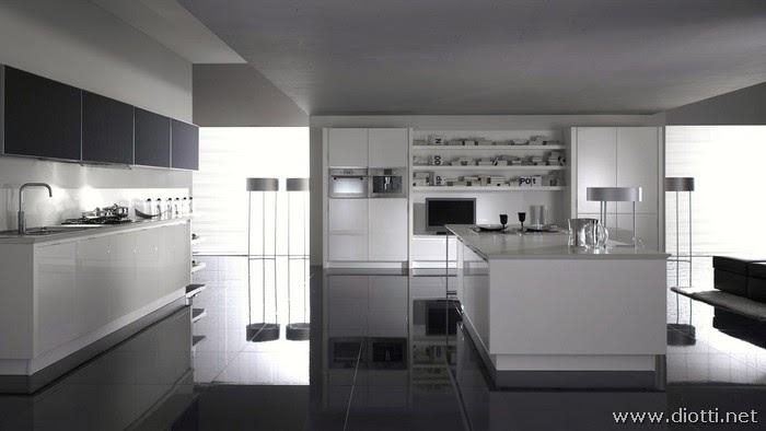 Cucine Moderne Bianche E Nere. Cucine Moderne Bianche Ad Angolo ...