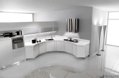 Arredamenti diotti a f il blog su mobili ed arredamento - Cucine bianche lucide ...