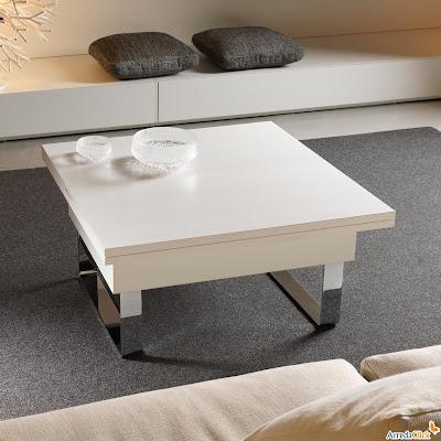 Arredaclick il blog sull 39 arredamento italiano online tavolini da salotto trasformabili per - Tavolino che diventa tavolo da pranzo ...