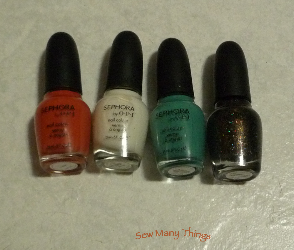 Sew Many Things: Lowest toxicity Nail Lacquers or Nail Polish