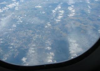 Näkymiä lentokoneesta