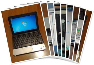 Dell Inspiron Mini 10v (1011) and Samsung MCCOE64G5MPP-0VAD1 Image Gallery