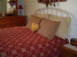 Homespun Pillow Shams