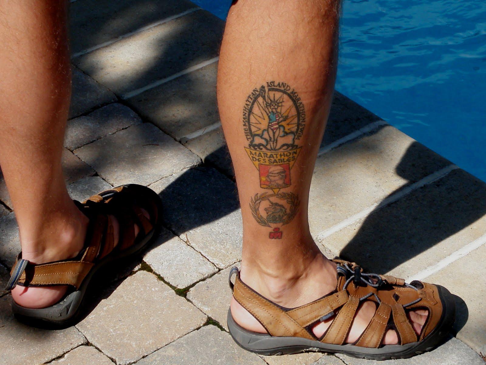 Open Water Swimming Tattoos