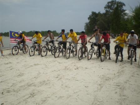 Pertandingan Basikal Laju atas pasir