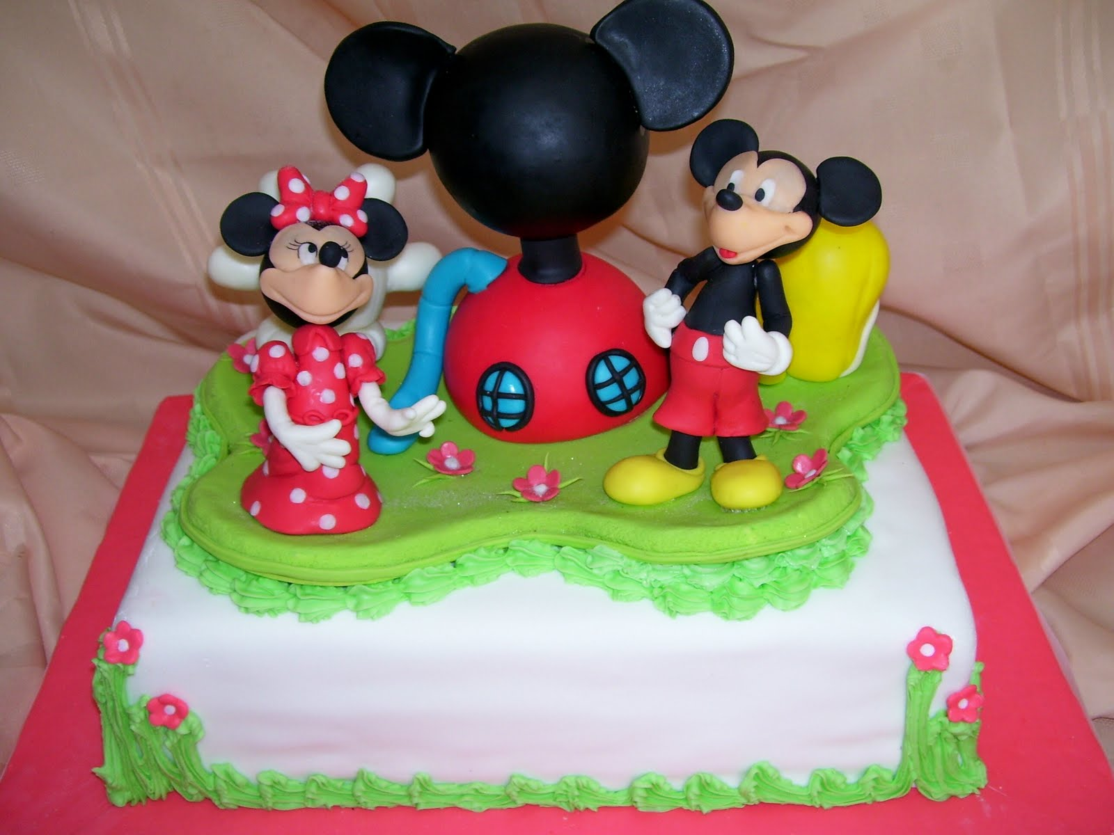Torta La Casa De Mickey Mouse