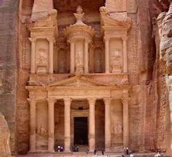 Temple at Petra