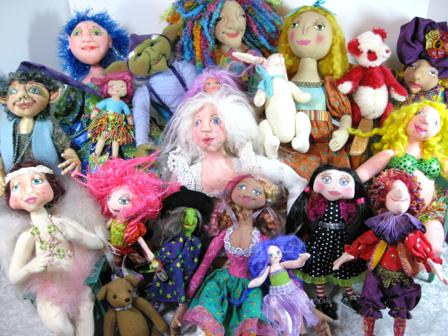 Dolls, Jewelry and Other Tomfoolery