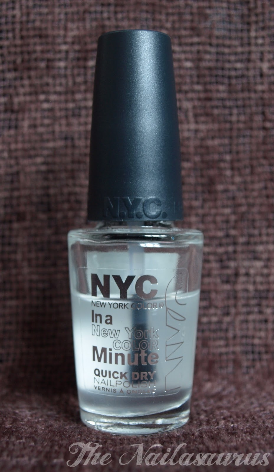 NYC In a New York Color Minute Quick Dry Polish Review - The ...