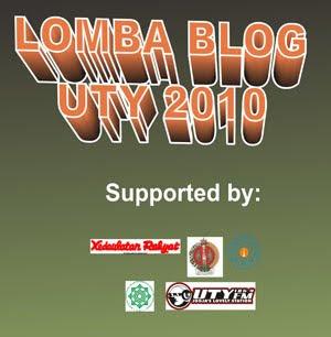 Lomba Blog UTY 2010