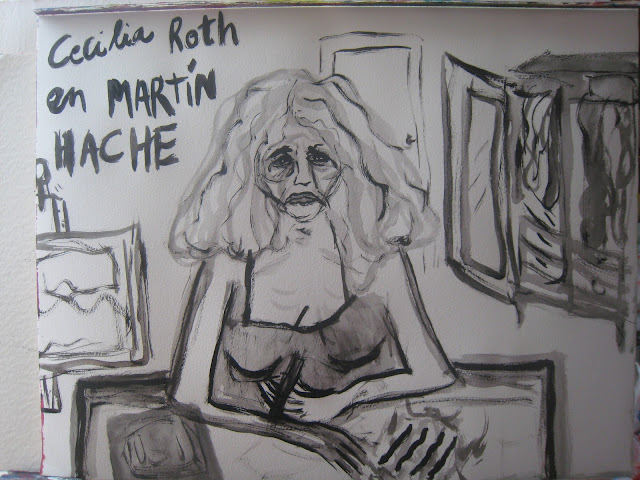 Cecilia Roth en una escena de la película Martín Hache