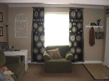 Doilie Drop Cloth Curtains