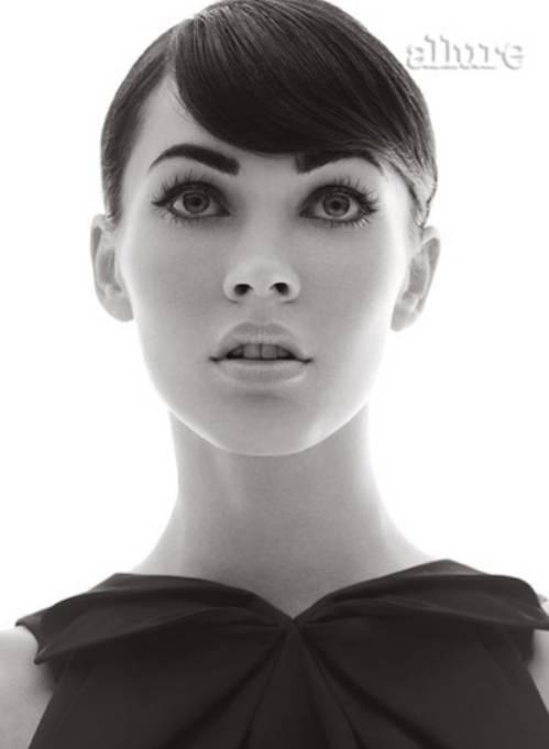 megan fox weight gain 2010. Megan Fox For Allure Magazine