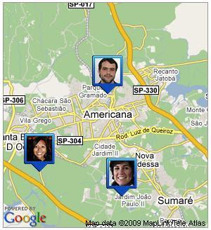 Novo sistema do Google mostra localização geográfica de amigos