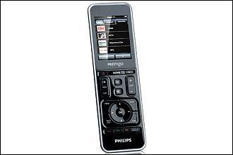 Philips lança controle remoto com touch-screen.